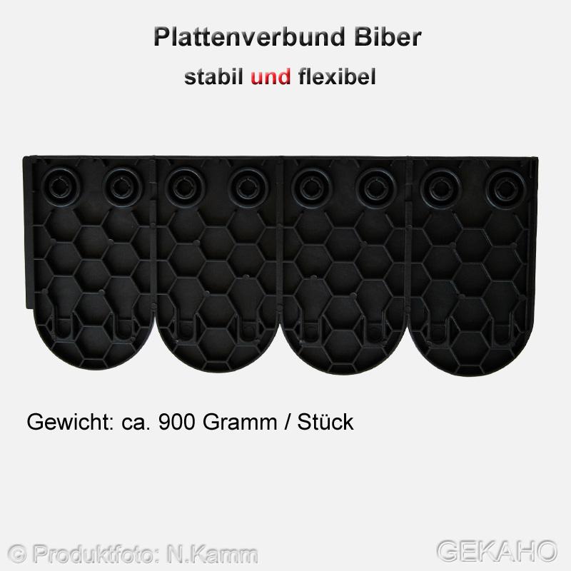 kunststoff dachziegel f r gartenhaus stabuflex gekaho. Black Bedroom Furniture Sets. Home Design Ideas