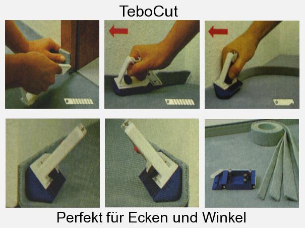tebo cut teppichboden schneider sockelleistenschneider 2 tlg gekaho. Black Bedroom Furniture Sets. Home Design Ideas