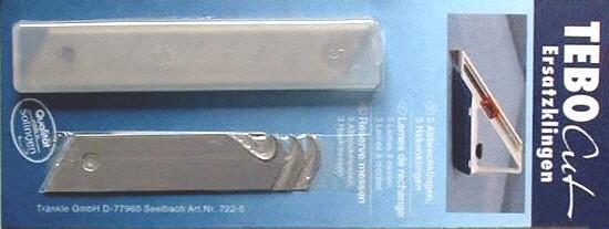 Ersatzklingen Set für Tebo-Cut