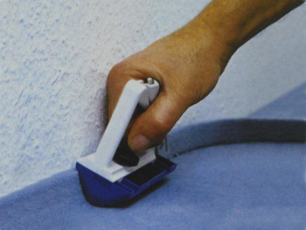 Tebo-Cut Teppichboden Schneider mit Ersatzklingen (2. Wahl)