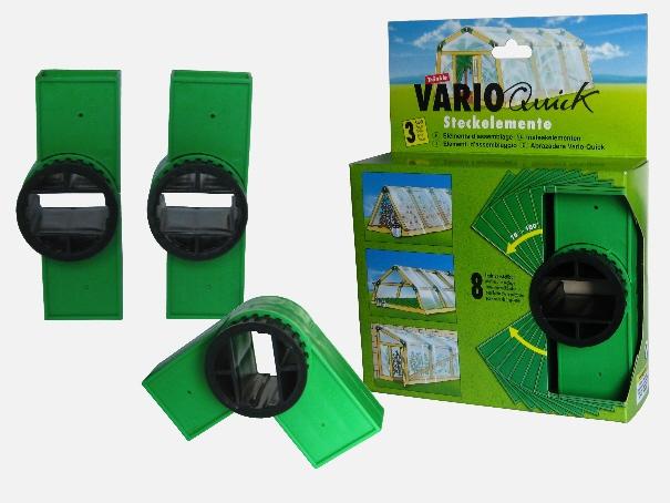 Vario Quick Steckelemente 3-er Set zur Ergänzung (grün)
