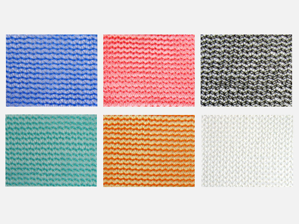 Vogelschutznetz, Gerüstschutznetz, Schattennetz, - versch. Farben, Meterware: Zuschnitt 1,00 m breit