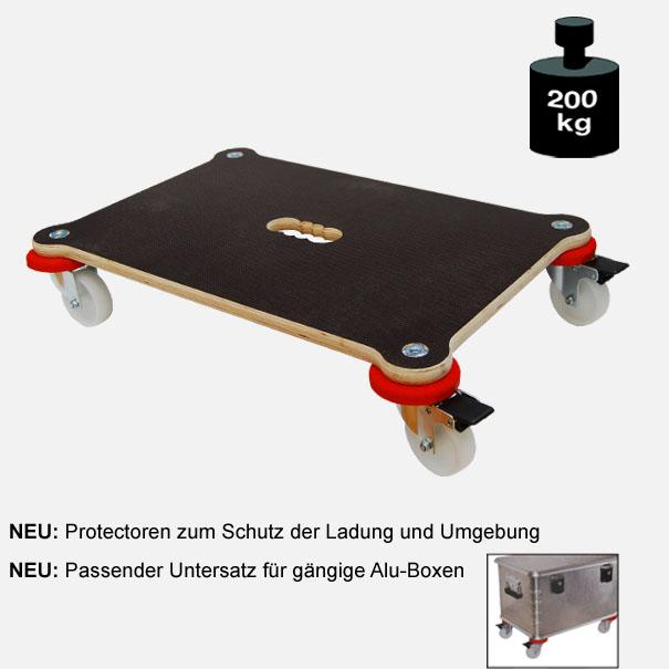 Multimobil: Transporthilfe, Möbelhund, Rollwagen,  Maxi Grip Protector  Größe: ca. 40 x 60 cm[14 1370 01]
