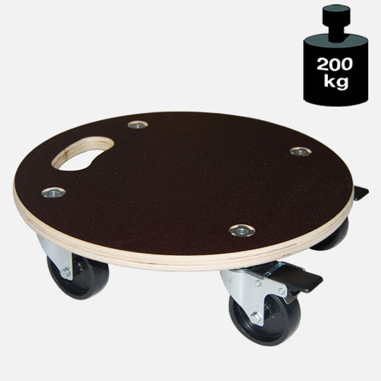 Multimobil: Transporthilfe, Möbelhund, Rollwagen,  Maxi Grip  Größe: Rund ca. 38 cm[14 1107 01]