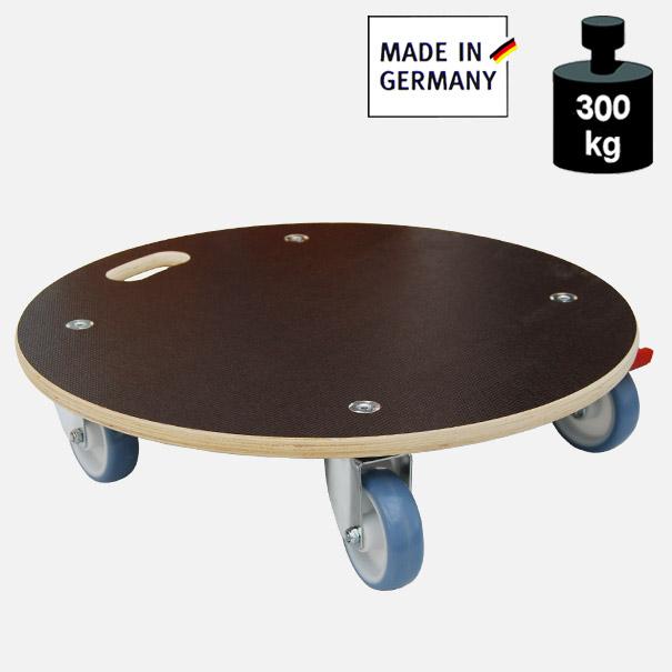 """Multimobil: Transporthilfe, Möbelhund, Rollwagen, """"Maxi Grip"""" Größe: Rund ca. 58 cm"""