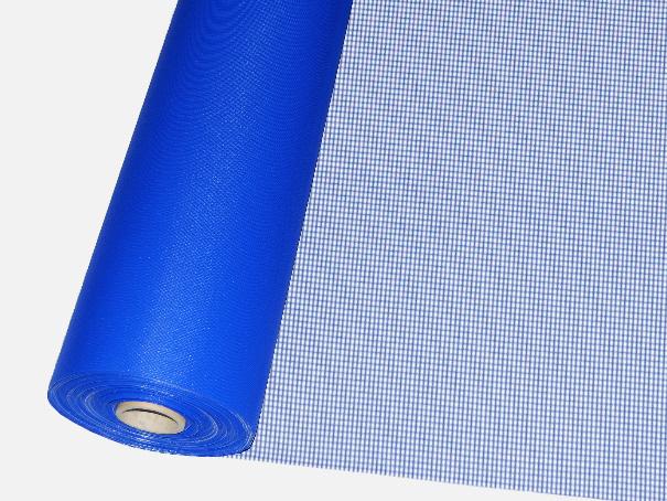 Windschutz Matte, Windbruchnetz, Boxenschutz, Containernetz - Meterware: Zuschnitt 1,50 m breit, blau