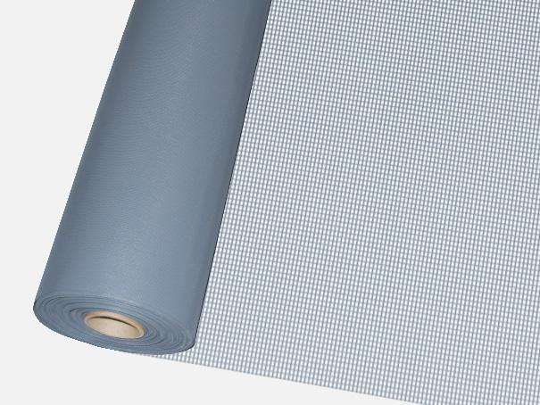 Windschutz Matte, Windbruchnetz, Boxenschutz, Containernetz - Meterware: Zuschnitt 1,00 m breit, grau
