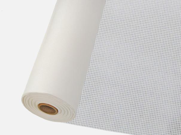 Windschutz Matte, Windbruchnetz, Boxenschutz, Containernetz - Meterware: Zuschnitt 1,00 m breit, weiss